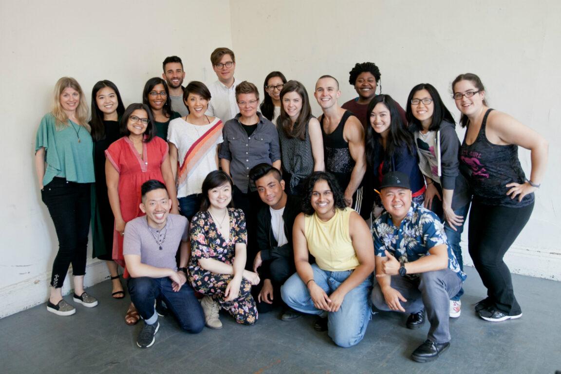 Cast and Creative Team of Interstate - photo by Shani Hadjian