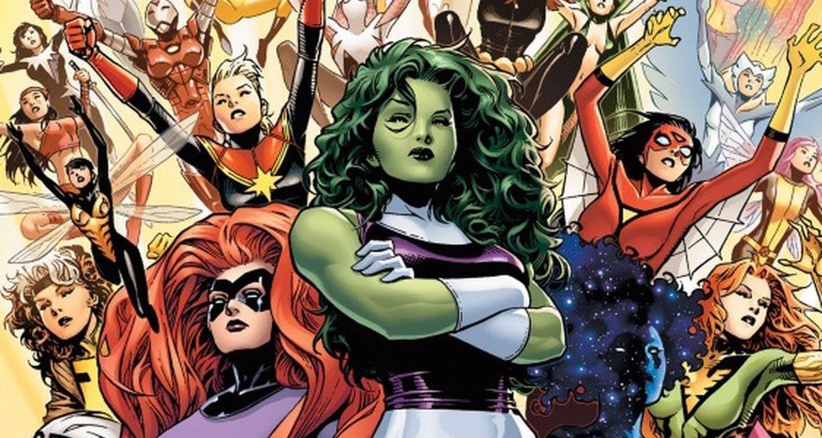 WONDER WOMAN Writer Bringing Marvel Superheroines to TV