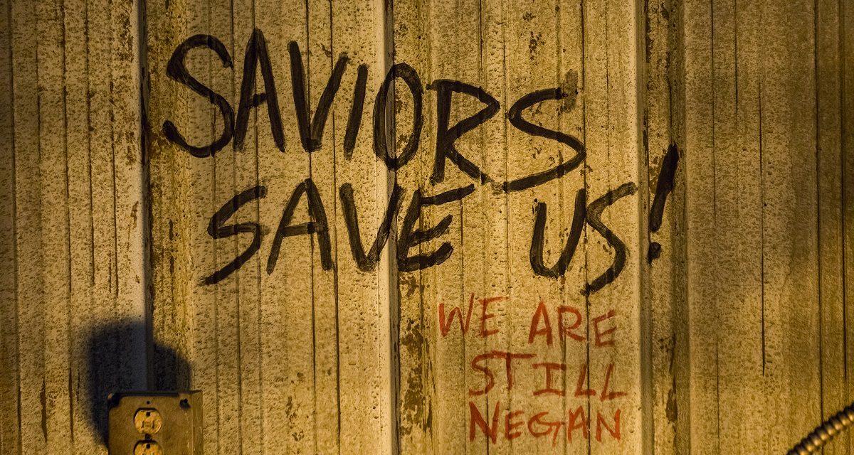 Negan Speaks in the New THE WALKING DEAD Season 9 Trailer