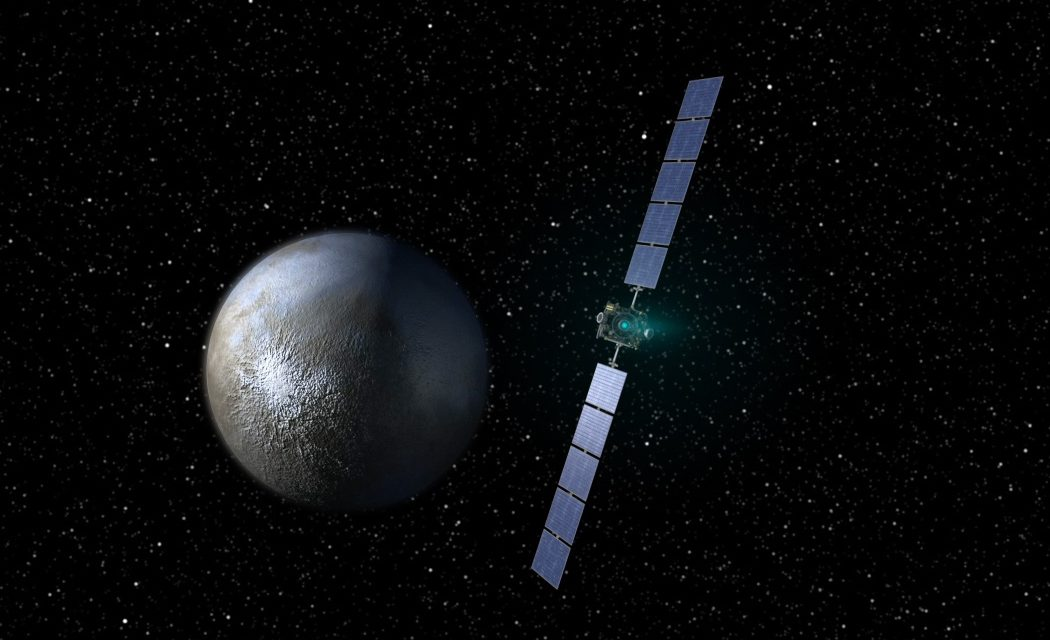 Night Will Soon Fall on NASA's Dawn Mission