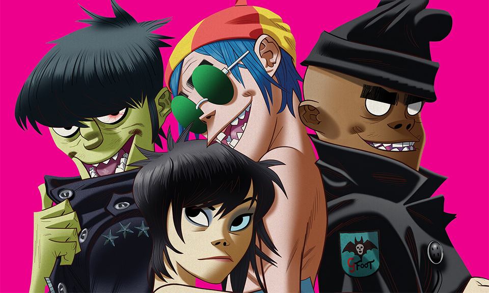 Gorillaz in Space!