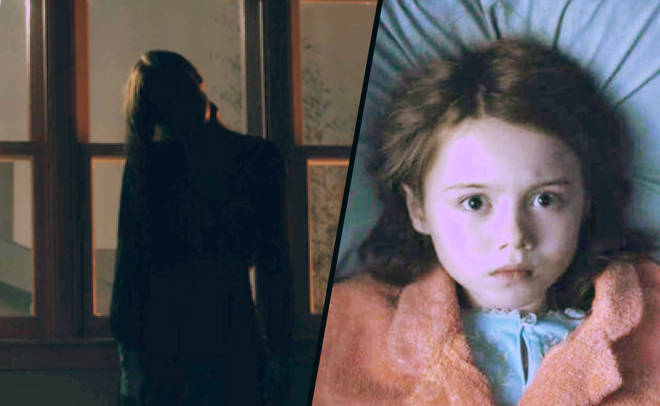 the bent neck ghost in the haunting of hill house