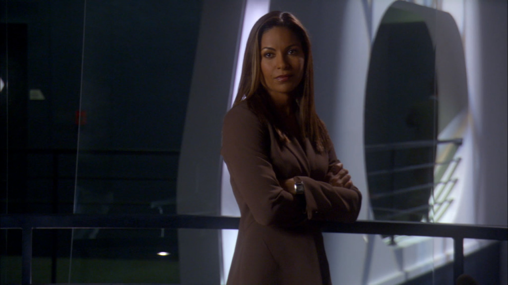 Salli Richardson-Whitfield as Dr. Allison Blake on Syfy's Eureka