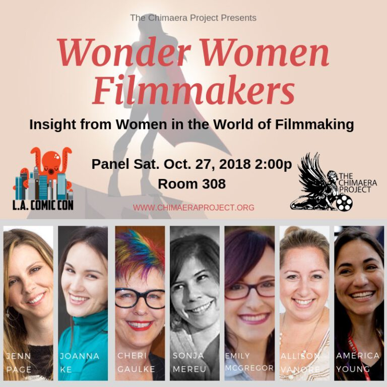 chimera project LACC wonder women filmmakers