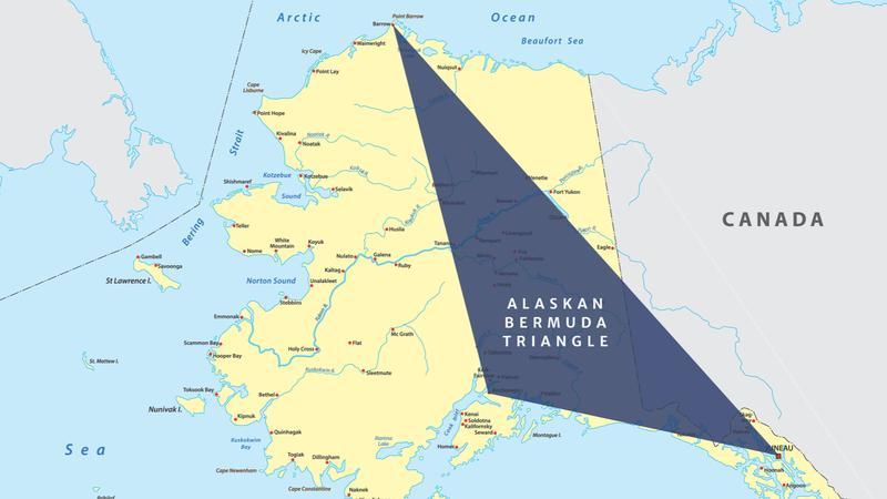 Alaska's larger Bermuda Triangle is a great urban legend