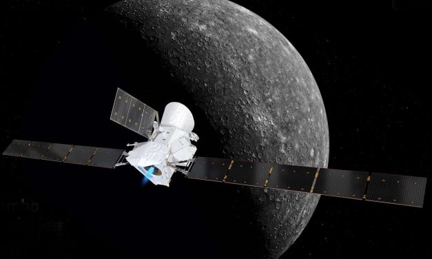 BepiColumbo Spacecraft Is On Its Way to Mercury for Europe and Japan