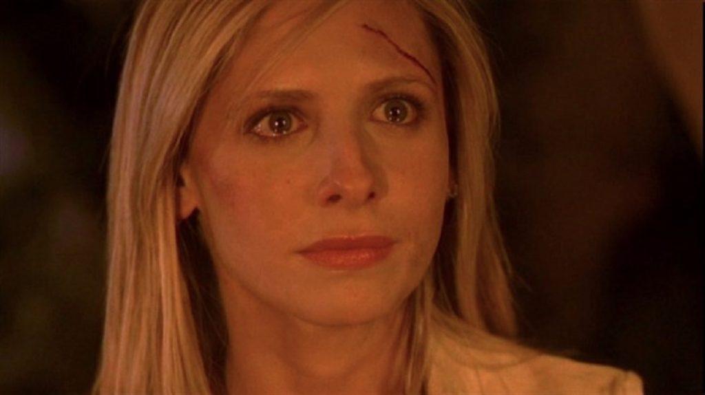 Still of Sarah Michelle Gellar in Buffy the Vampire Slayer