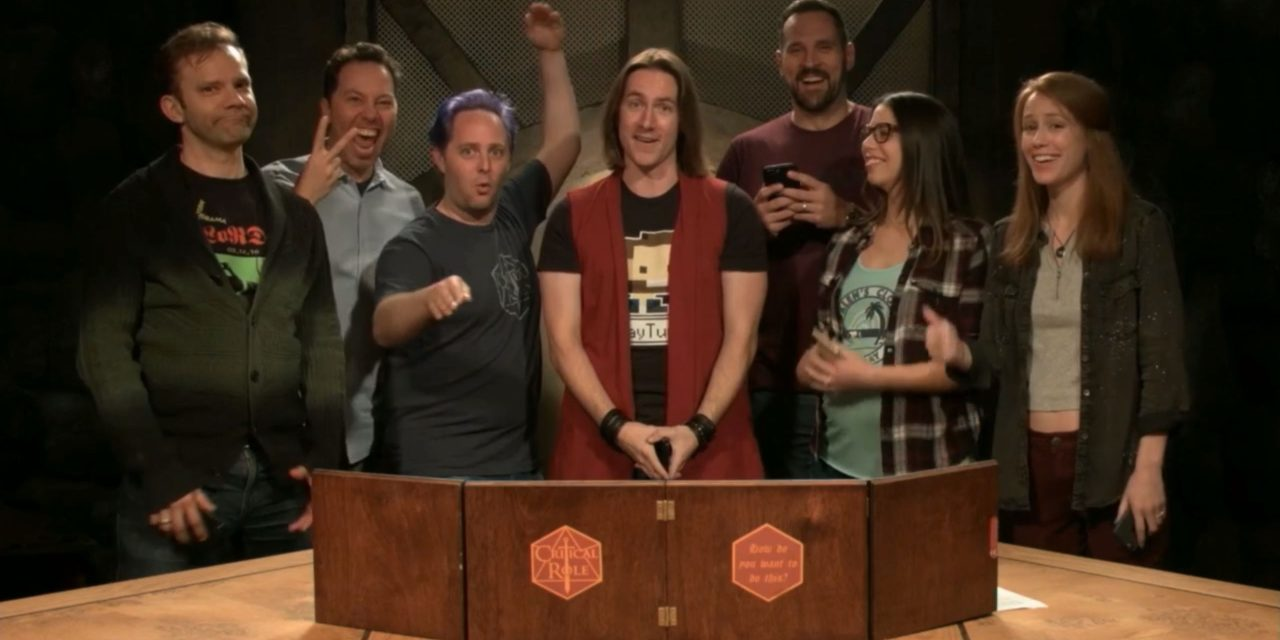 NYCC 2018: CRITICAL ROLE Live on Broadway in NYC