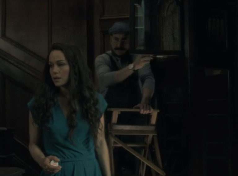 the painter ghost in the haunting of hill house