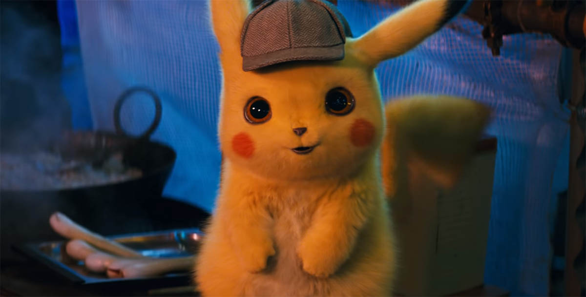 POKÉMON Come to Life in First Fun-Filled Trailer for DETECTIVE PIKACHU