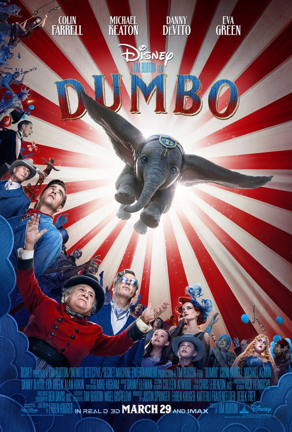 Official Movie Poster, Dumbo