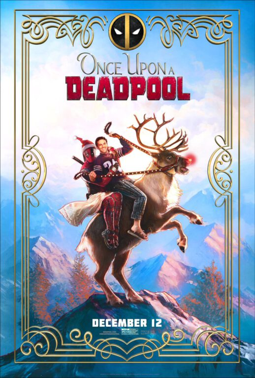 Official Movie Poster, Once Upon a Deadpool