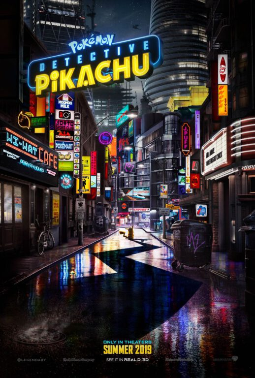 Official Movie Poster, Pokemon: Detective Pikachu