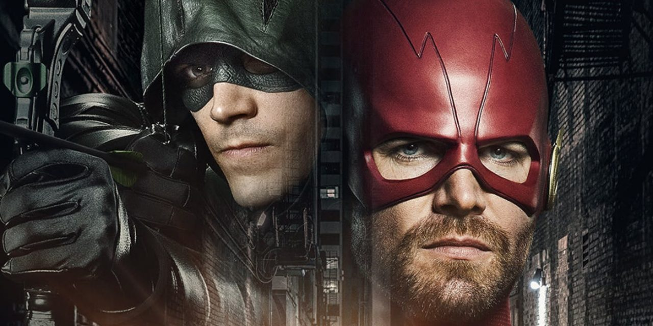Iris Kisses Oliver in First Teaser for Arrowverse CW Crossover ELSEWORLDS