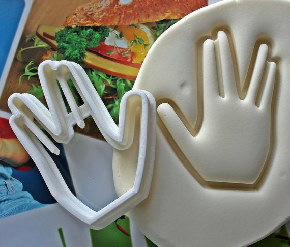 Live Long and Prosper Cookie Cutter by Smiltroy, Etsy
