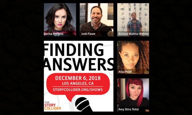 The Story Collider Returns to Los Angeles December 6th with More Science and Storytelling Fun