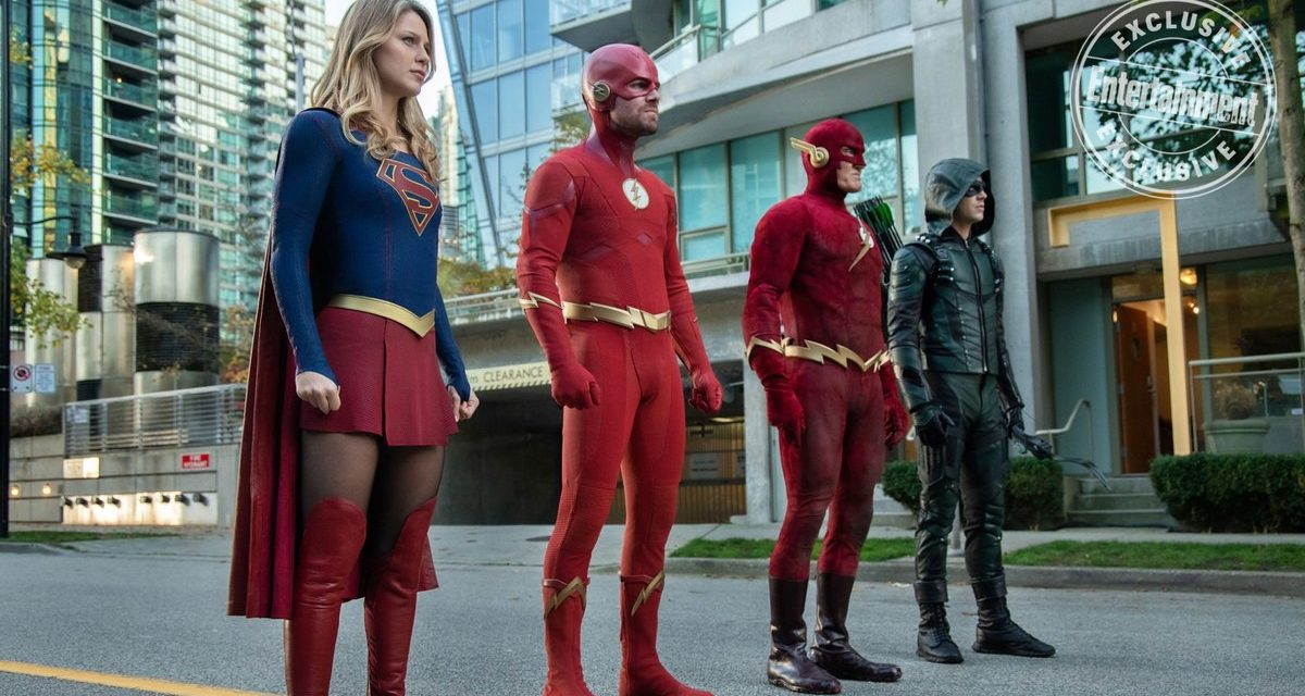 Arrowverse Stars Spill the Beans About CW Crossover ELSEWORLDS with New Photos