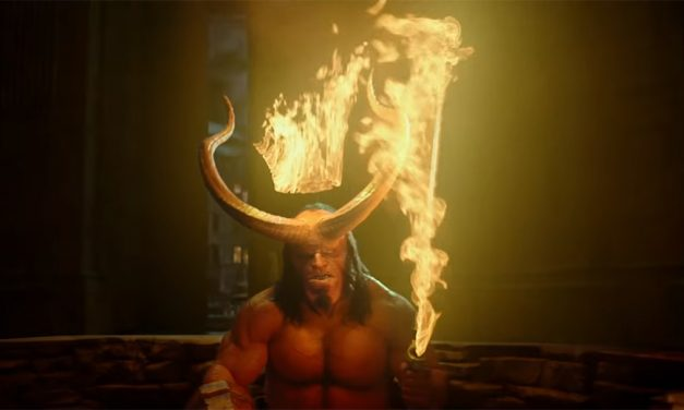 All Hell Breaks Loose in First Trailer for HELLBOY