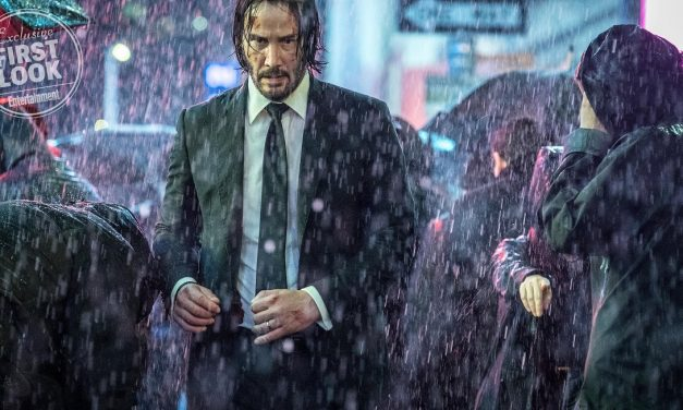Keanu Reeves and Halle Berry in New JOHN WICK 3: PARABELLUM Photos