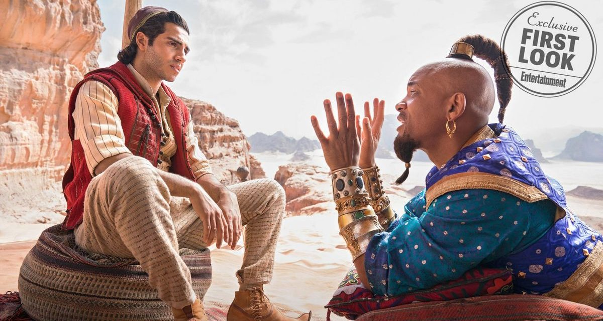 First Photos from Live Action Remake of ALADDIN are Here