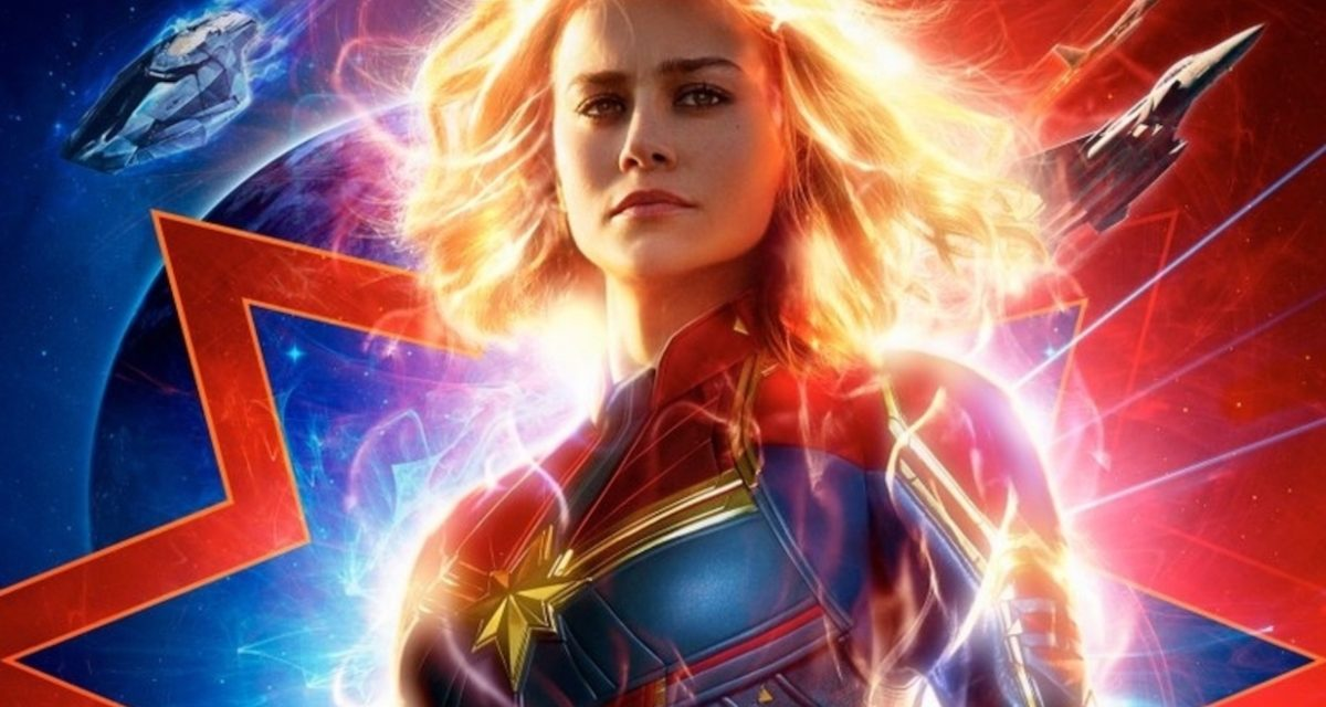 Marvel Teases Upcoming CAPTAIN MARVEL Trailer with New Poster