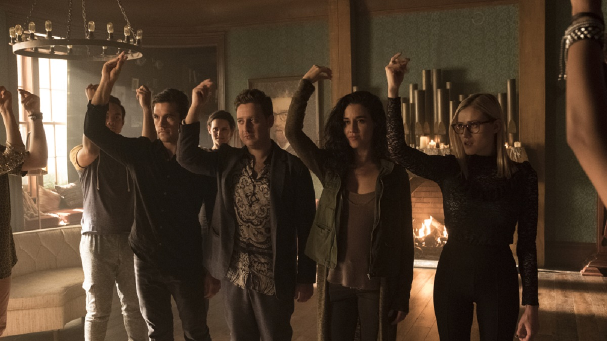 Still of the cast of The Magicians