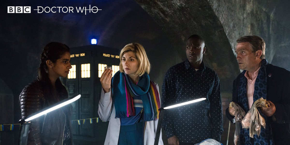 DOCTOR WHO New Year's Day Special 2019 Resolution jodie whittaker Bradley Walsh Tosin Cole Mandip Gill,