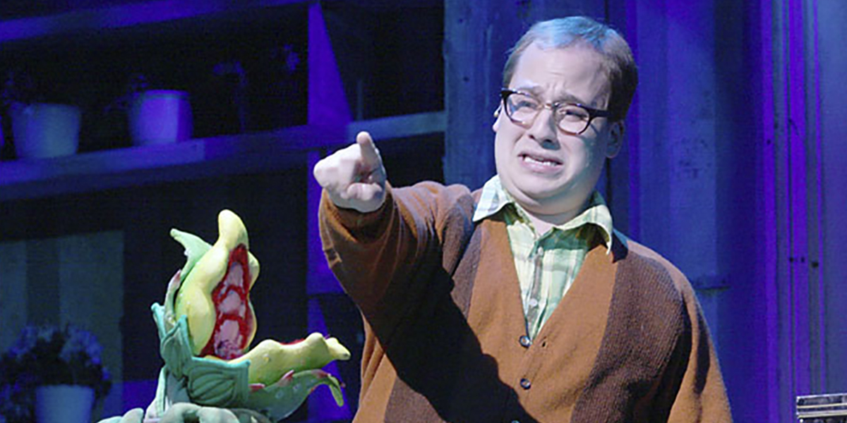 Jared Gertner in Little Shop of Horrors
