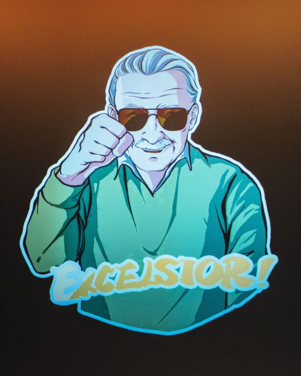 Art from Stan Lee Tribute Excelsior!