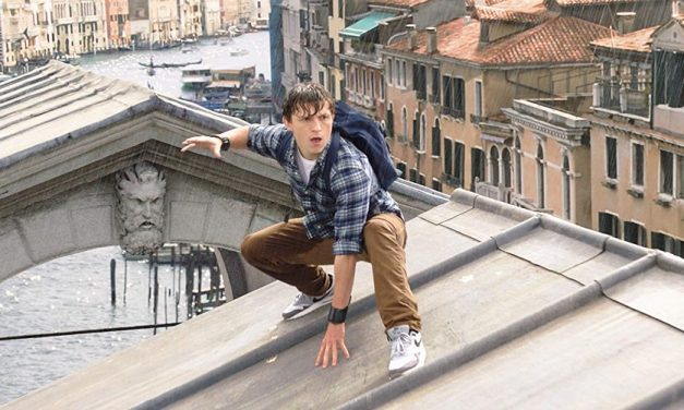 Peter Parker Encounters Mysterio in SPIDER-MAN: FAR FROM HOME Trailer