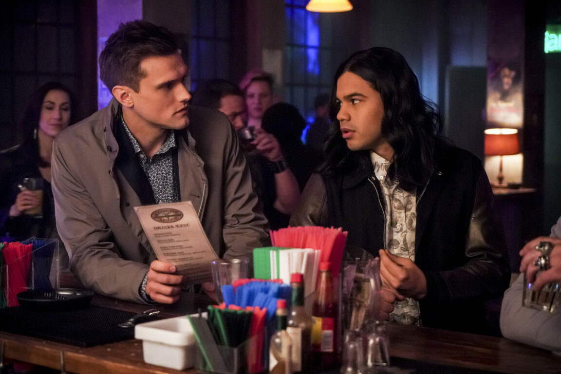 Ralph and Cisco go out for some fun