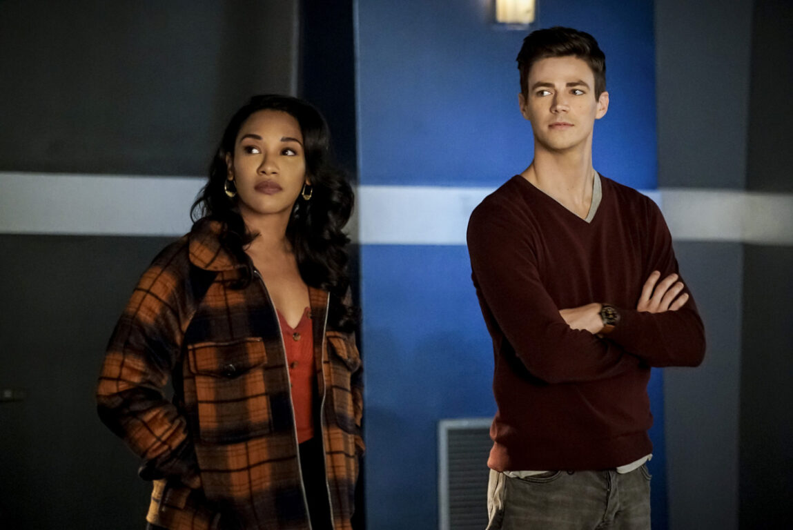 Barry and Iris decide what to do next