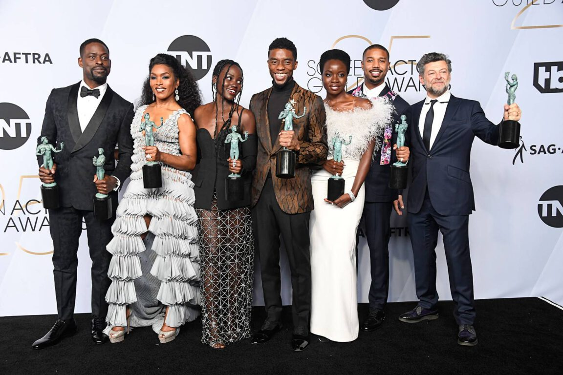 Black Panther Cast at the 2019 SAG Awards
