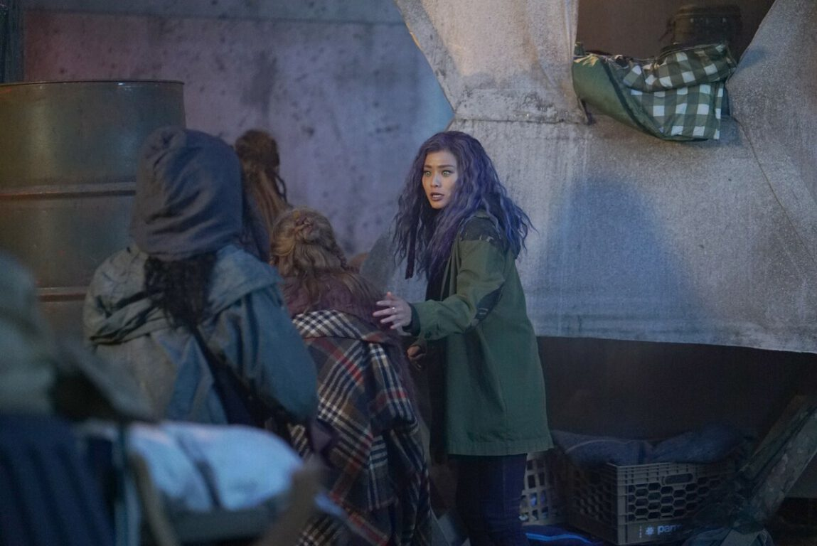 Blink plans an escape route on The Gifted