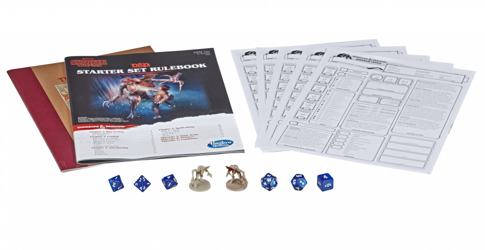 Stranger Things Dungeons and Dragons Starter Kit Essentials