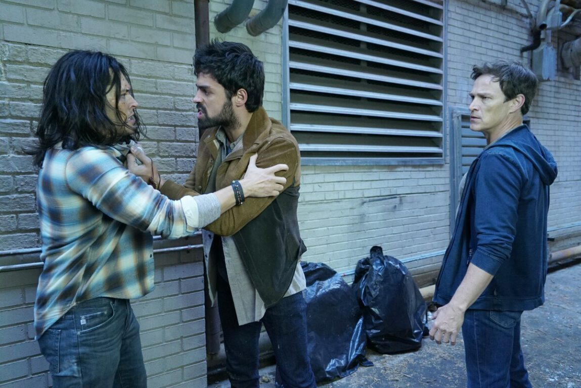 Marcos and Reed console John on The Gifted, Monsters