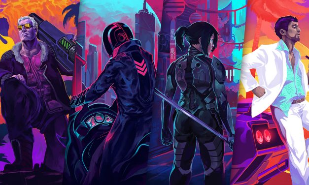 GGA Game Review: HYPER JAM Brings a Neon Futuristic Style to Brawlers