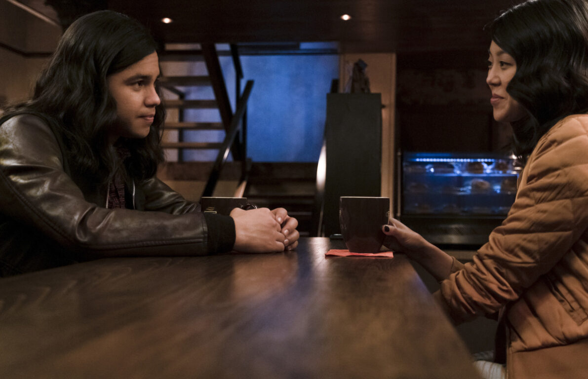 Cisco goes on a date on The Flash
