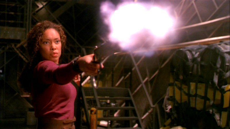 Gina Torres as Zoe Washburne in Firefly / Serenity