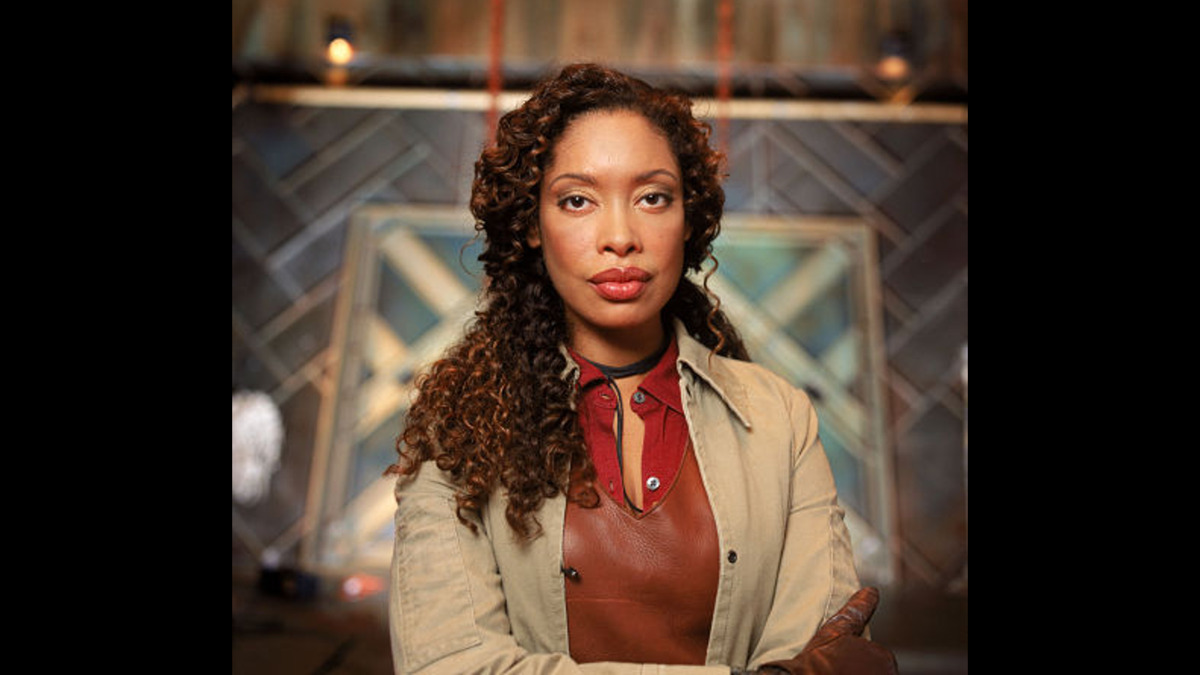 Gina Torres as Zoe Washburne in Firefly and Serenity
