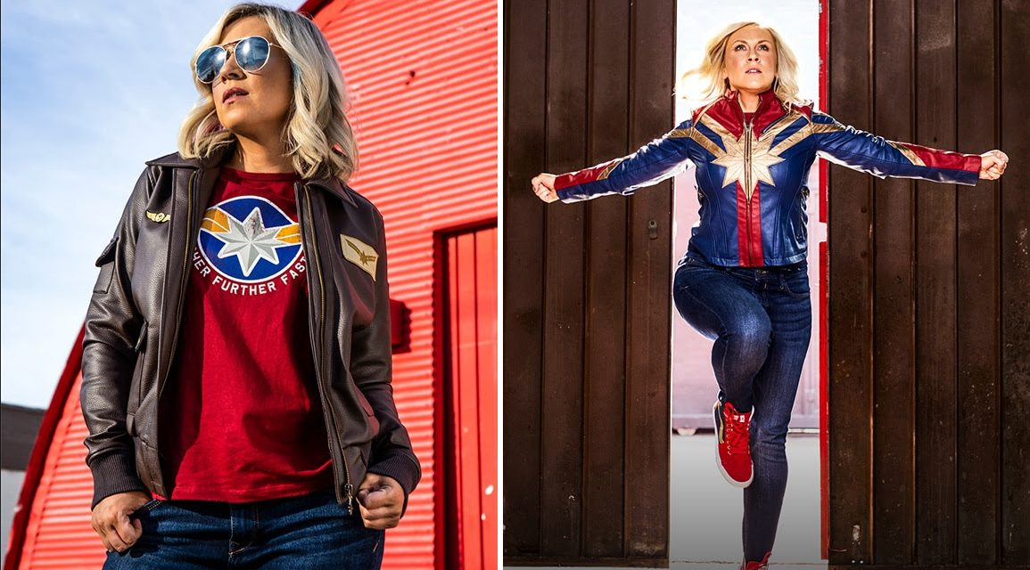 Her Universe Launches CAPTAIN MARVEL Fashion Higher, Further, Faster