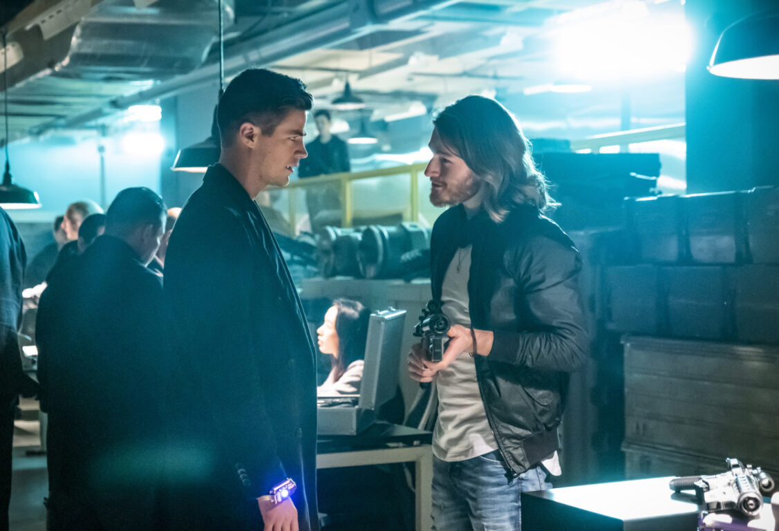 Barry finds a dangerous weapon on The Flash