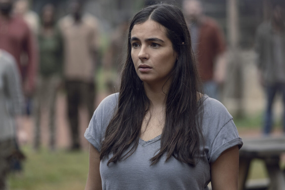 Tara takes command of the Hilltop on The Walking Dead.