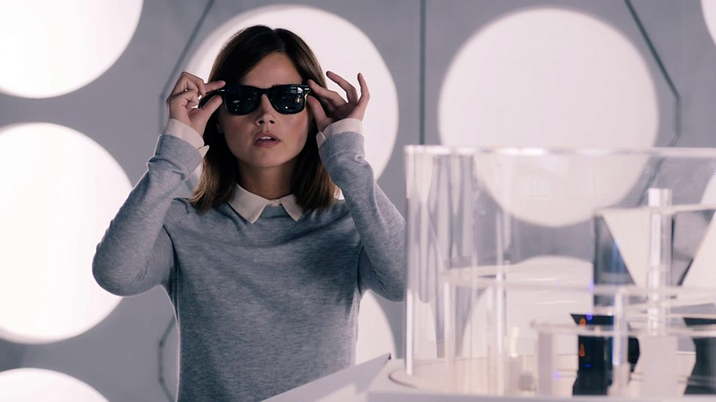 Still Image of Clara (Jenna Coleman) in Doctor Who