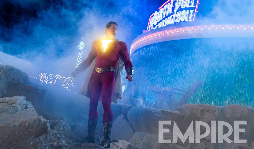 Still Image of Zachary Levi in DC's upcoming film Shazam!