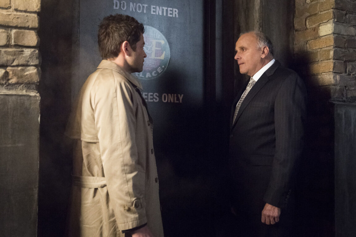 Zachariah and Castiel look for answers on Supernatural