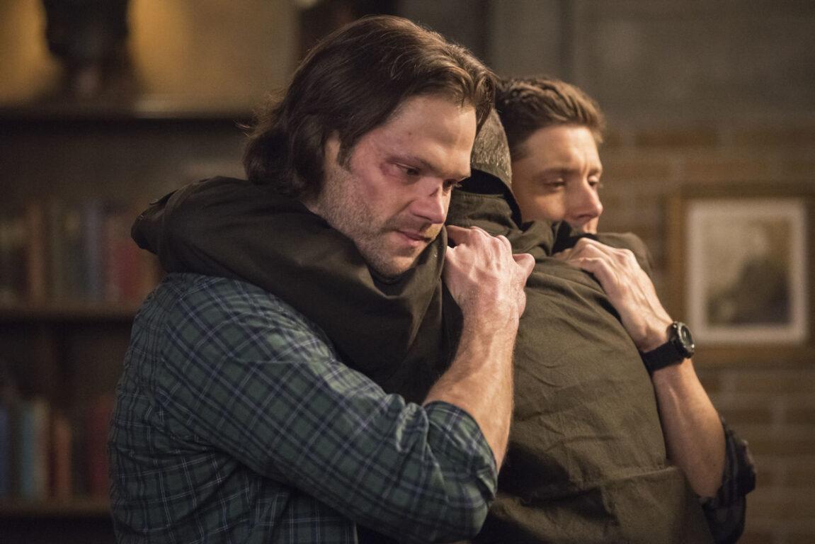 Sam and Dean say goodbye to John on Supernatural