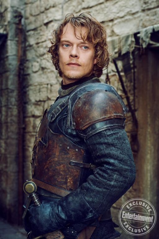Theon Greyjoy on Game of Thrones