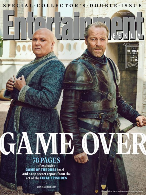 Varys and Jorah Mormont on Game of Thrones