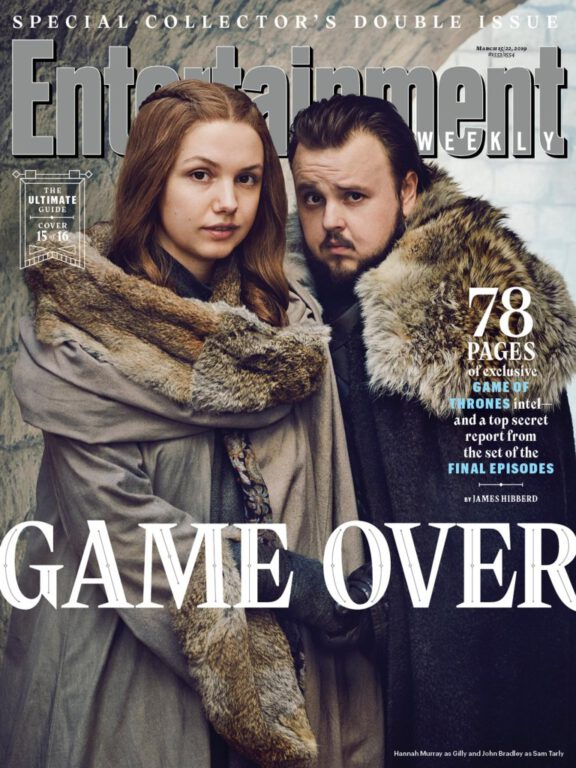 Gilly and Sam on Game of Thrones